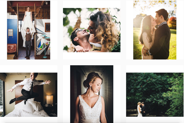 Instagram of Chicago Wedding Photographer Hitch & Sparrow