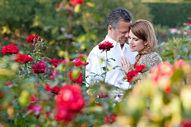 Chicago Engagement Photos - Chicago Botanic Garden
