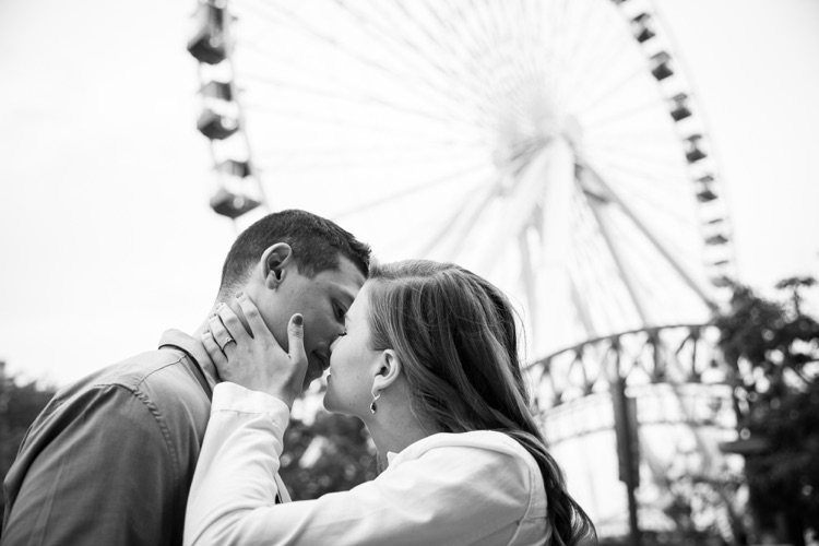 Chicago Engagement Photos - Navy Pier