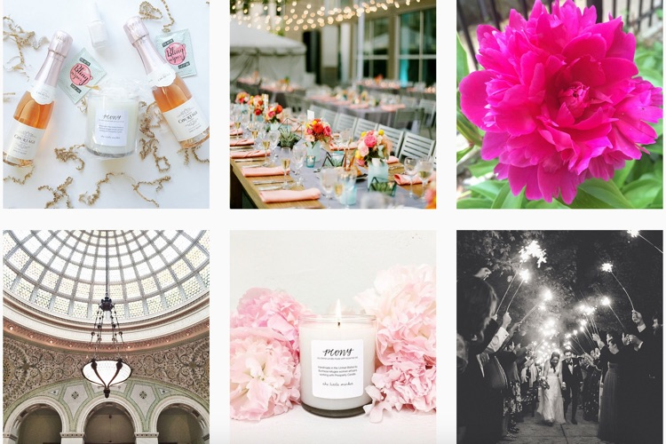 Instagram of Chicago Wedding Planner & Designer La Belle Fleur Events